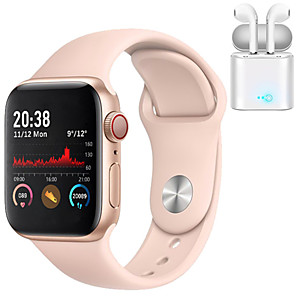 cheap Smartwatch Bands-H55 Smartwatch for Apple/ Samsung/ Android Phones,Bluetooth Fitness Tracker Support Heart Rate Monitor Blood Pressure Measurement