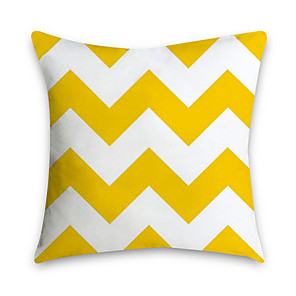 cheap Pillow Covers-1 pcs Polyester Pillow Cover Nordic Ins Living Room Sofa Pillow Cushion Office NAP Headrest Large Backrest Yellow Pillow Cover Without Core