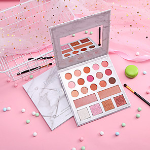 cheap Blush-15 Colors 1 pcs Dry Brightening / Girlfriend Gift / Convenient EyeShadow China Contemporary / Fashion Easy to Carry / Women / Best Quality Date / Professioanl Use / Outdoor Others Makeup Cosmetic