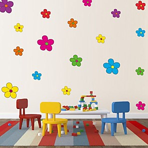 cheap Wall Stickers-Decorative Wall Stickers - Plane Wall Stickers Florals Nursery / Kids Room