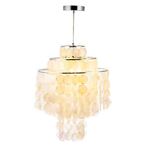 cheap Pendant Lights-3-Light 40 cm Mini Style / Creative Pendant Light Metal Shell Mini Electroplated Modern / Nordic Style 110-120V / 220-240V