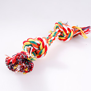 cheap Dog Toys-Chew Toy Interactive Bite Bone Dog Toy Pet Toy Rope Textile Gift