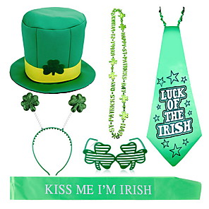 cheap Christmas Decorations-Irish Lucky St Patrick's Day Pride Hat Costume