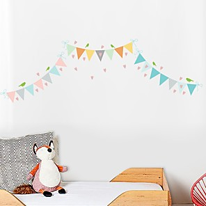 cheap Wall Stickers-Decorative Wall Stickers - Plane Wall Stickers Colorful Shapes Nursery / Kids Room