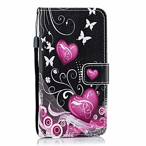 cheap Samsung Case-Case For Galaxy A10 A30 A40 Palace flower PU Leather with Card Slot Flip up and down For Galaxy A50 A60 A70