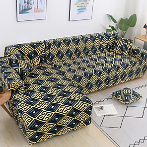 cheap Sofa Cover-Sofa Cover Geometric / Neutral / Contemporary Printed Polyester Slipcovers