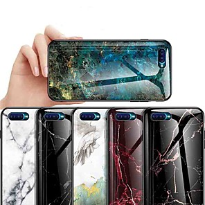 cheap Other Phone Case-Case For OPPO OPPO Reno2 / OPPO Reno2 Z / OPPO R11 Plus Shockproof / Ultra-thin / Pattern Back Cover Marble Tempered Glass