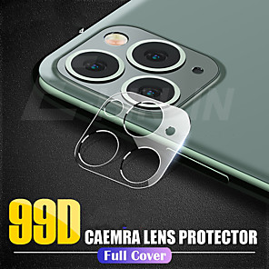 cheap iPhone Screen Protectors-New 3D Film For iPhone 11 Pro Max Back Camera Lens Screen Protector Phone Camera Accessories For iPhone 11 Protective Film