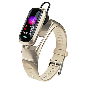 cheap Smartwatches-M9 Smart Talk Band For Women Men With Bluetooth Headphone Hate Rate Blood Pressure Monitor Sport SmartWatch Bracelet