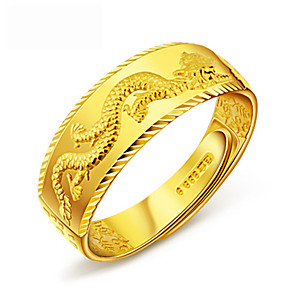 cheap Rings-Women's Ring 1pc Gold Silver Platinum Plated Alloy Stylish Daily Jewelry Cute