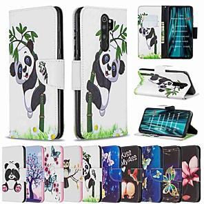 cheap Xiaomi Case-Case For Xiaomi Redmi Note 8 Pro / Redmi Note 8 / Redmi Note 7 Pro Wallet / Card Holder / with Stand Full Body Cases Panda PU Leather / TPU for Redmi Note 7 / Redmi 8 / Redmi 8A / Redmi K20