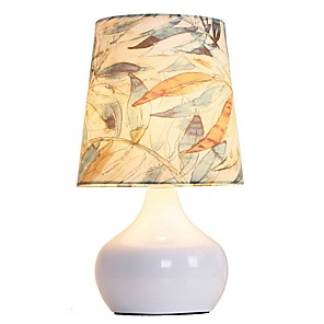 cheap Car DVD Players-Table Lamp Decorative Floral / Modern Contemporary / Nordic Style For Bedroom 220V Wood
