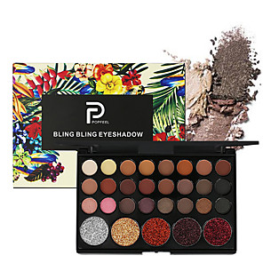 cheap Eyeshadows-29 Colors Eyeshadow Eyeshadow Palette Matte Cosmetic EyeShadow Face Easy to Carry Women Best Quality Pro Ultra Light (UL) Girlfriend Gift Safety Convenient Daily Makeup Halloween Makeup Party Makeup