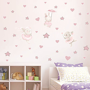 cheap Wall Stickers-Decorative Wall Stickers - Plane Wall Stickers Stars / Fairies Nursery / Kids Room