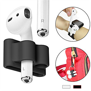 cheap Headphones Accessories-Airpods Strap Simple Style Apple Airpods Scratch-proof Silicon Rubber