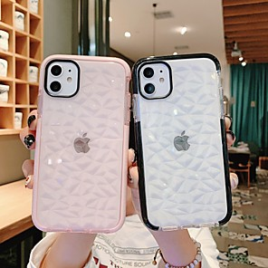 cheap iPhone Cases-Case For Apple iPhone 11 / iPhone 11 Pro / iPhone 11 Pro Max Shockproof / Dustproof / Ultra-thin Back Cover Transparent TPU