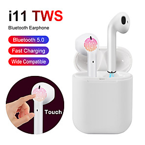 cheap TWS True Wireless Headphones-i11 earphones Touch Bluetooth earphones Stereo wireless headphones Sports headphones game headset for iphone Samsung Huawei
