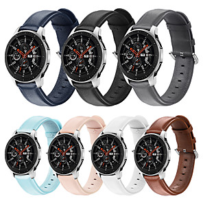 cheap Smartwatch Bands-20MM/22MM Huawei Watch GT2 46mm/42mm Honor MagicWatch 2 42mm/46mm /Huawei Watch GT 2e/Watch2/Watch2 Pro Buckle / Business Band Genuine Leather Wrist Strap