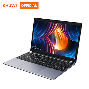 cheap Cell Phones-CHUWI HeroBook Pro 14.1 inch 1920*1080 IPS Screen Intel N4000 Processor DDR4 8GB 256GB SSD Windows 10 Laptop