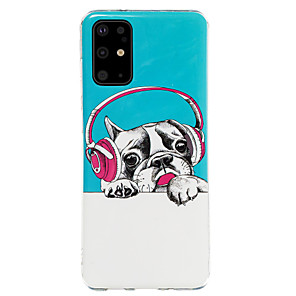 cheap Samsung Case-Case For Samsung Galaxy S20 / S20 Ultra / Glow in the Dark / Pattern Back Cover Dog / Animal TPU for Galaxy A10 A20 A30 A30S A40 A50 A50S A60 A70 A80 A90 M10 M20 NOTE9 NOTE10 NOTE10 PRO
