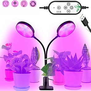 cheap LED Strip Lights-Grow Light LED Plant Growing Light 30W USB Dimming LED Grow Light LED Plant Lamps Full Spectrum Phyto Lamp Timer For indoor Vegetable Flower Seedling