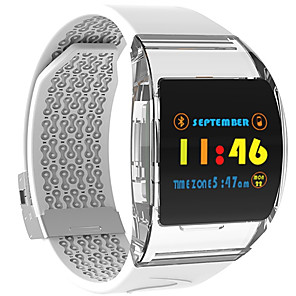 cheap Smartwatches-P63 Couple's Smartwatch Android iOS Bluetooth Heart Rate Monitor Blood Pressure Measurement Sports Long Standby Exercise Record Timer Stopwatch Pedometer Call Reminder Sleep Tracker