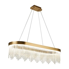 cheap Indoor Wall Lights-1-Light QIHengZhaoMing 35 cm Circle Design Chandelier Metal Modern 110-120V / 220-240V