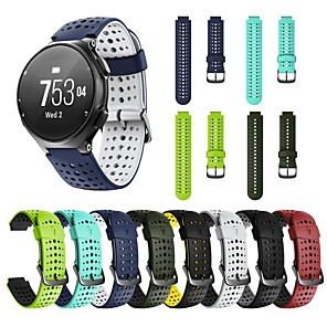 cheap Smartwatch Bands-Watch Band for Forerunner 735 / Forerunner 630 / Forerunner 620 Garmin Modern Buckle Silicone Wrist Strap / Forerunner 235 / Forerunner 230 / Forerunner 220