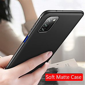 cheap Samsung Case-Case For Samsung Galaxy S9 / S9 Plus / Galaxy S10 Ultra-thin Back Cover Solid Colored TPU