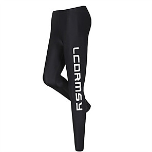 cheap Wetsuits, Diving Suits & Rash Guard Shirts-LUCKYFISH Women's Dive Skin Leggings Bottoms UV Sun Protection Quick Dry Swimming Diving Painting Autumn / Fall Spring Summer / Winter / High Elasticity