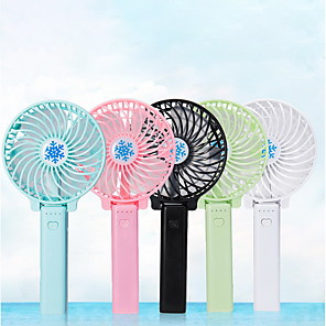 cheap Fans-2020 USB Charging Summer Cooler Portable Fan Mini Handheld Desk Fans Rechargeable ABS Portable Office Outdoor Household Travel