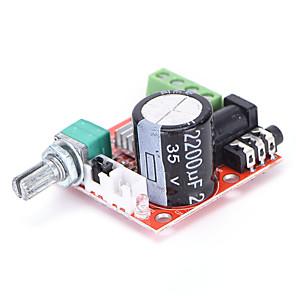 cheap Motherboards-12V Mini Hi-Fi PAM8610 Audio Stereo Amplifier Board 2X10W Dual Channel D