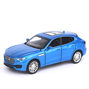 cheap Toy Cars-1:32 Toy Car Music Vehicles Car Race Car SUV Glow Simulation Exquisite Zinc Alloy Rubber Mini Car Vehicles Toys for Party Favor or Kids Birthday Gift / Kid's