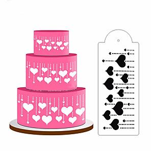 baratos Utensílios para Biscoitos-4 pcs spray de bolo flor açúcar em pó peneira ferramenta de cozimento diy decoração do bolo do laço