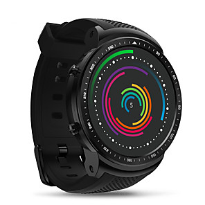 cheap Smartwatches-Zeblaze THOR PRO Unisex Smartwatch Android iOS 3G GPS Heart Rate Monitor Long Standby Video Exercise Record Timer Stopwatch Pedometer Call Reminder Sleep Tracker