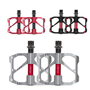 cheap Novelties-WAKE® Bike Pedals Cycling Anti-Slip 3 Bearing Aluminum Alloy for Cycling Bicycle Road Bike Mountain Bike MTB Folding Bike Black