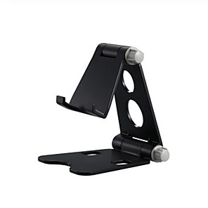 cheap Phone Mounts & Holders-Foldable Adjustable  Phone Holder Stand Desktop Multi-Angle Adjustable Desktop Holder with Anti-Slip Base and Convenient Charging Port, Fits All Smart Phones