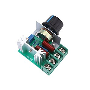 cheap Robots & Accessories-2000W AC50-220V SCR High-power Electronic Voltage Regulator Module