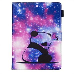 cheap iPad case-Case For Apple iPad Air / iPad (2018) / iPad Air 2 Dustproof / with Stand / Flip Back Cover sky / Cartoon PU Leather