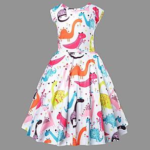 cheap Girls' Dresses-Kids Girls' Animal Dress Blushing Pink