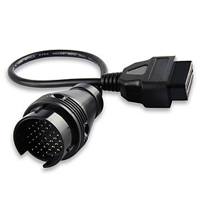 cheap OBD-Mercedes Benz 38 Pin to 16 Pin OBD2 OBD Diagnostic Adapter Connector