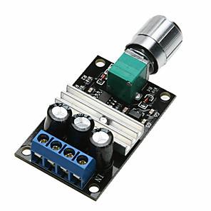 cheap Sensors-PWM Motor Speed Control Switch Controller Module DC 6V 12V 24V 28V 3A Max 80W