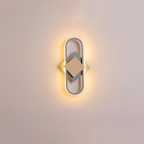 cheap Indoor Wall Lights-Creative LED Modern LED Wall Lights Living Room Bedroom Metal Wall Light 110-120V 220-240V 15 W