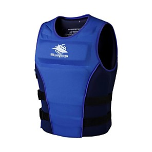 cheap Wetsuits, Diving Suits & Rash Guard Shirts-Life Jacket Sailing Professional Flexible Nylon SBR EPE Foam Surfing Kayaking Water Sports Life Jacket for Adults / Athletic