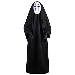 cheap Anime Costumes-Inspired by Spirited Away No Face man Anime Cosplay Costumes Japanese Cosplay Suits Costume For Men's
