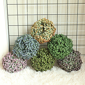 cheap Artificial Plants-1pcs Grass Ball Simulation Flower Home Decoration Wall Plant Wall