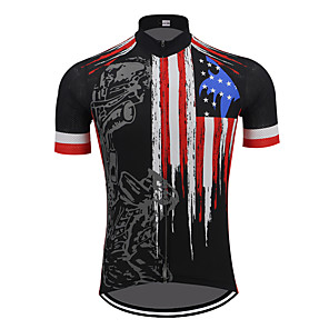 cheap Hair Jewelry-Summer men's short sleeves Flexible Breathable fast dry Polyester Motorcycle suit Motorcycle clothing Motorcycle Jersey