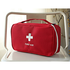 cheap Wetsuits, Diving Suits & Rash Guard Shirts-Portable Emergency Survival Bag Family First Aid Kit Sport Travel kits Home Medical Bag Outdoor Car First Aid Bag