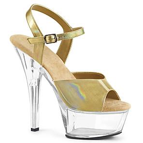 cheap Women's Heels-Women's Sandals Heel Sandals Summer Stiletto Heel Peep Toe British Office & Career Solid Colored PU White / Red / Orange