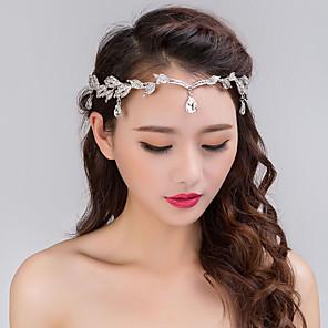 cheap Hair Jewelry-Women's Hair Jewelry For Wedding Wedding Geometrical Alloy Silver 1pc